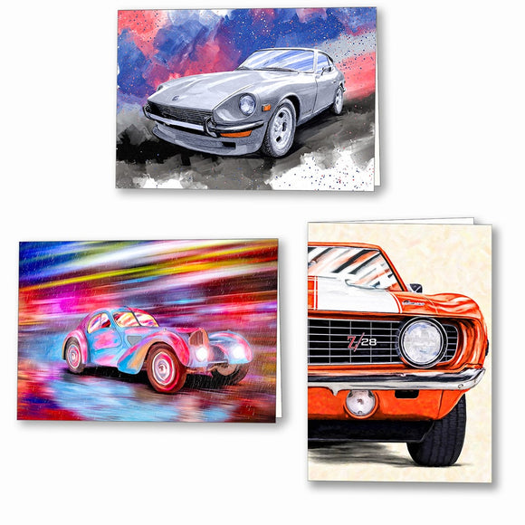 Automotive Greeting Cards