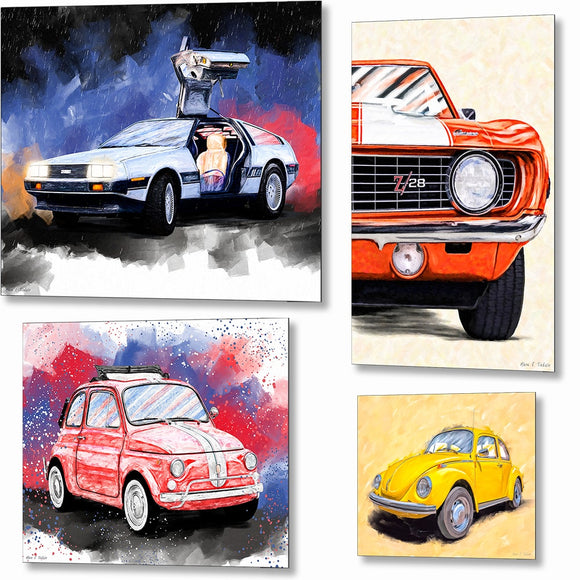 Automotive Metal Prints