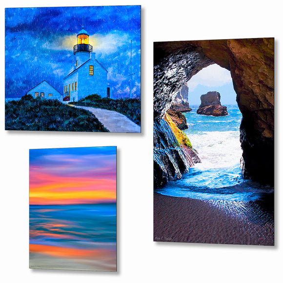 California Metal Prints