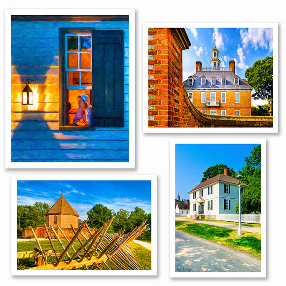 Colonial Williamsburg Art Prints