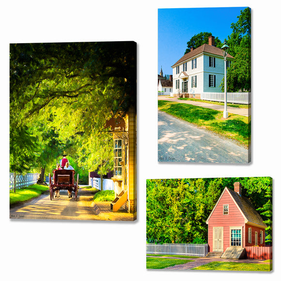 Colonial Williamsburg Canvas Prints
