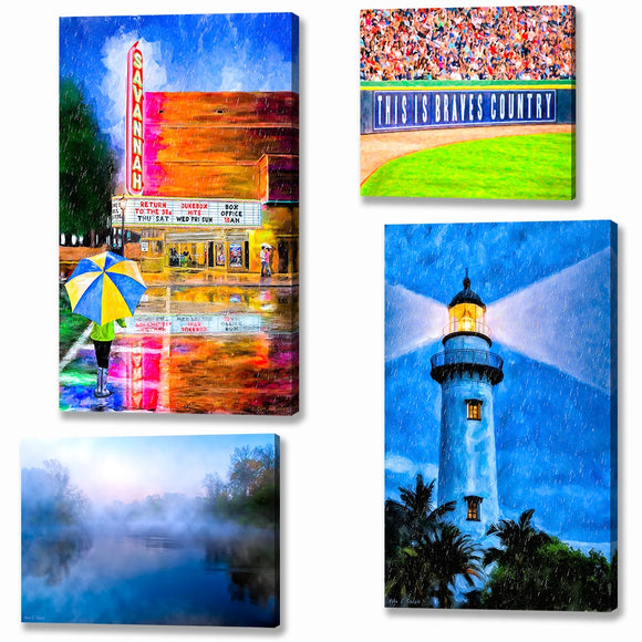 Georgia Canvas Prints
