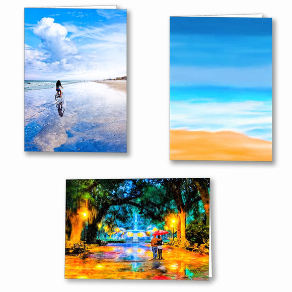 Georgia Coast Greeting Cards
