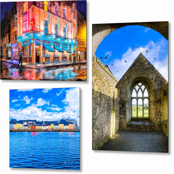 Ireland Metal Prints