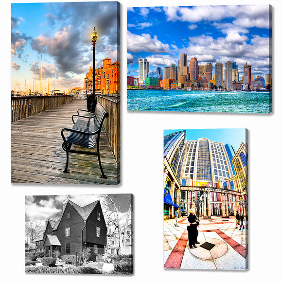 Massachusetts Canvas Prints