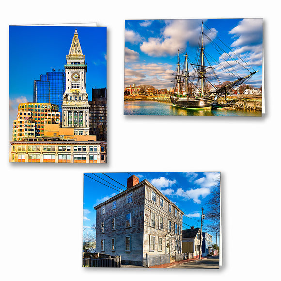 Massachusetts Greeting Cards
