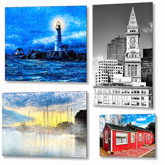 Massachusetts Metal Prints