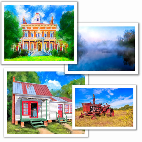Middle And South Georgia Art Prints