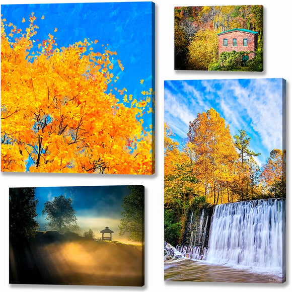 North Georgia Scenic Canvas Prints