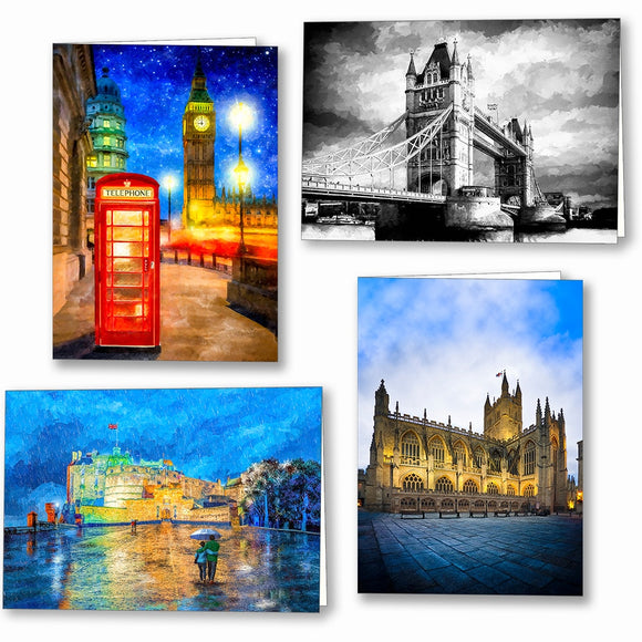 United Kingdom Greeting Cards