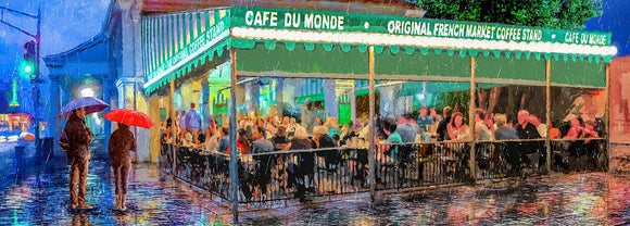 Cafe Du Monde Artwork