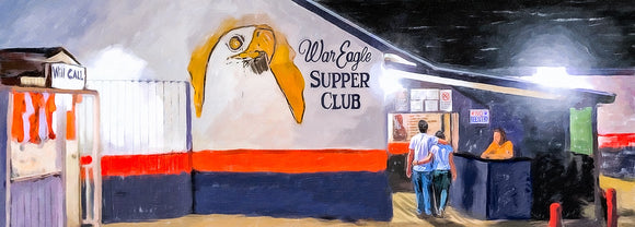 War Eagle Supper Club Art