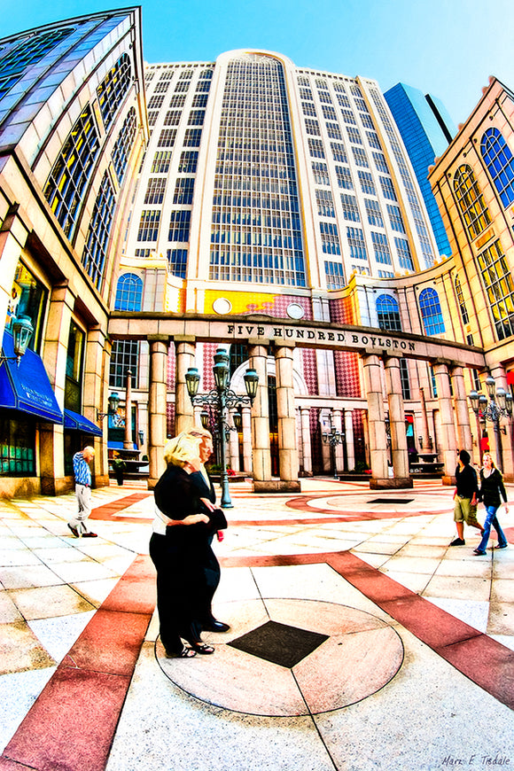 500 Boylston Street - Boston Art Print