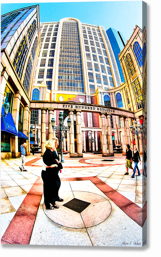 500 Boylston Street - Boston Canvas Print
