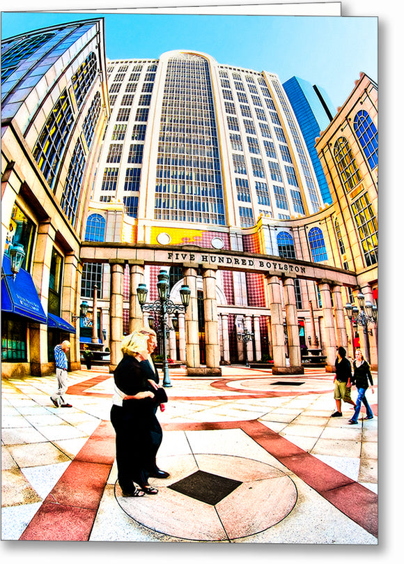 500 Boylston Street - Boston Greeting Card