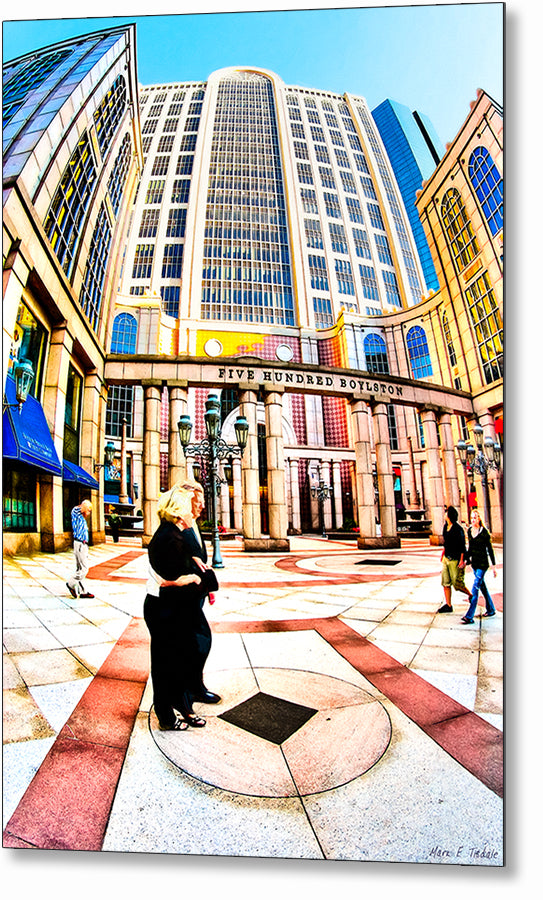 500 Boylston Street - Boston Metal Print