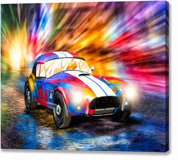 AC Cobra - Classic Car Canvas Print