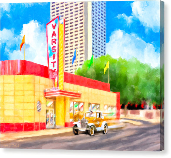 An Atlanta Original - The Varsity - Canvas Print