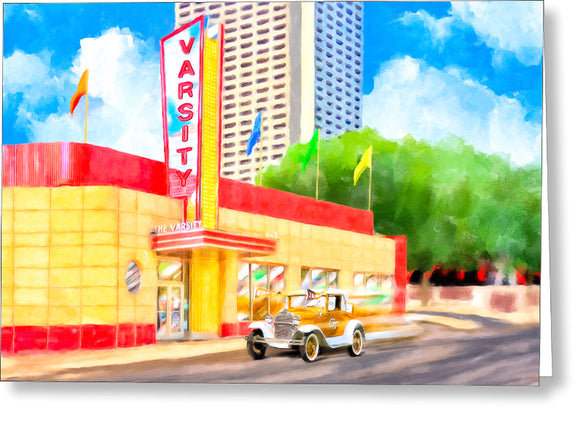 An Atlanta Original - The Varsity - Greeting Card
