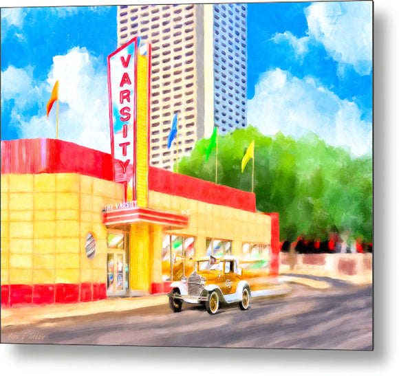 An Atlanta Original - The Varsity - Metal Print