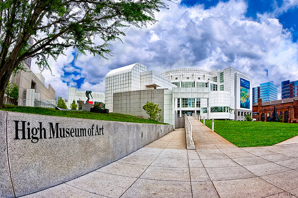 Atlanta's High Museum - Art Print