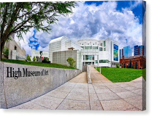 Atlanta's High Museum - Canvas Print