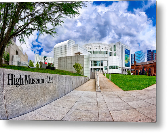 Atlanta's High Museum - Metal Print