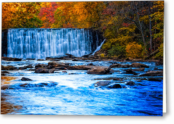 Autumn At Roswell Mill - Georgia Greeting Card