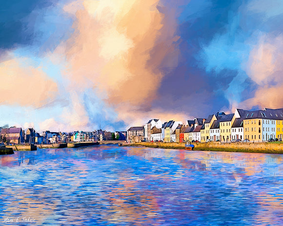 Beautiful Irish Seaside - Galway Art Print
