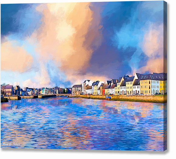 Beautiful Irish Seaside - Galway Canvas Print
