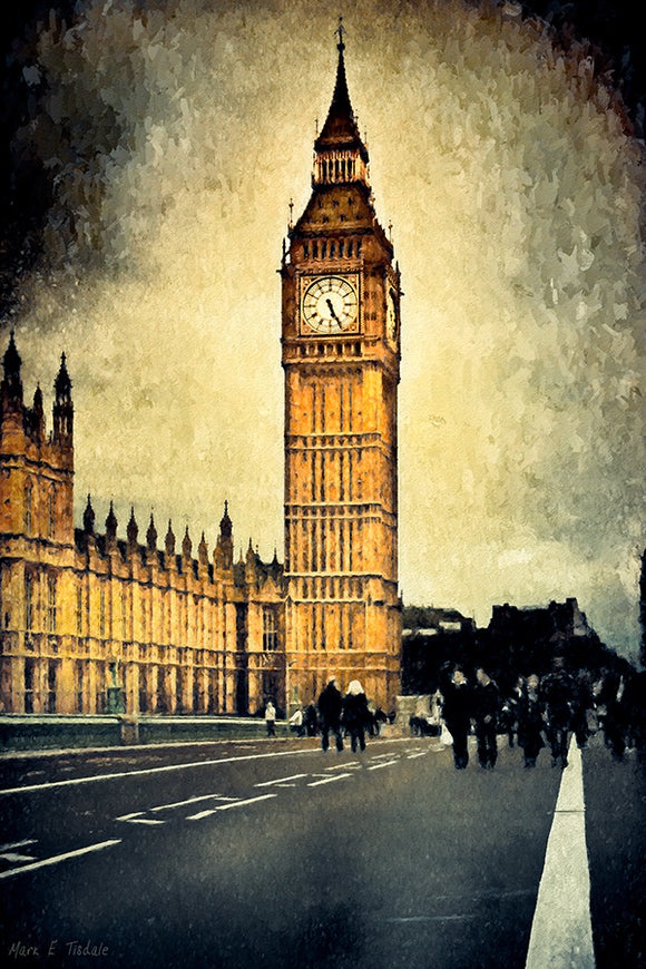 Big Ben Clock - Unique London Art Print