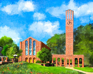 Chapel Of Memories - Mississippi State - Art Print