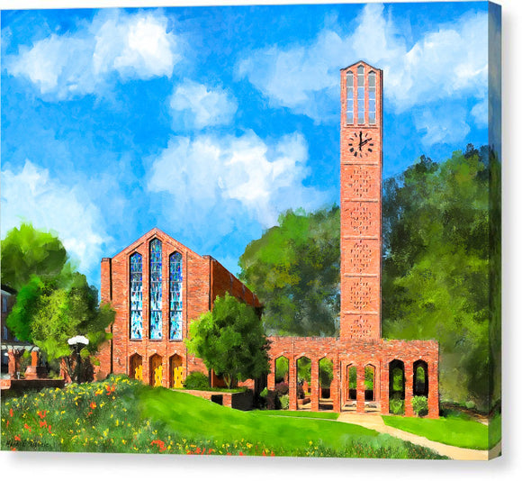 Chapel Of Memories - Mississippi State - Canvas Print