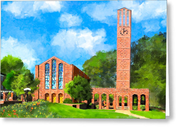 Chapel Of Memories - Mississippi State - Greeting Card
