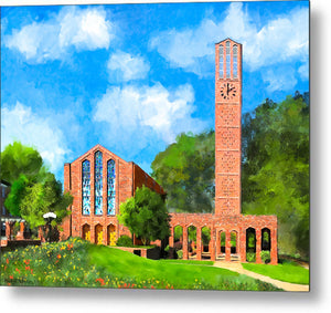Chapel Of Memories - Mississippi State - Metal Print