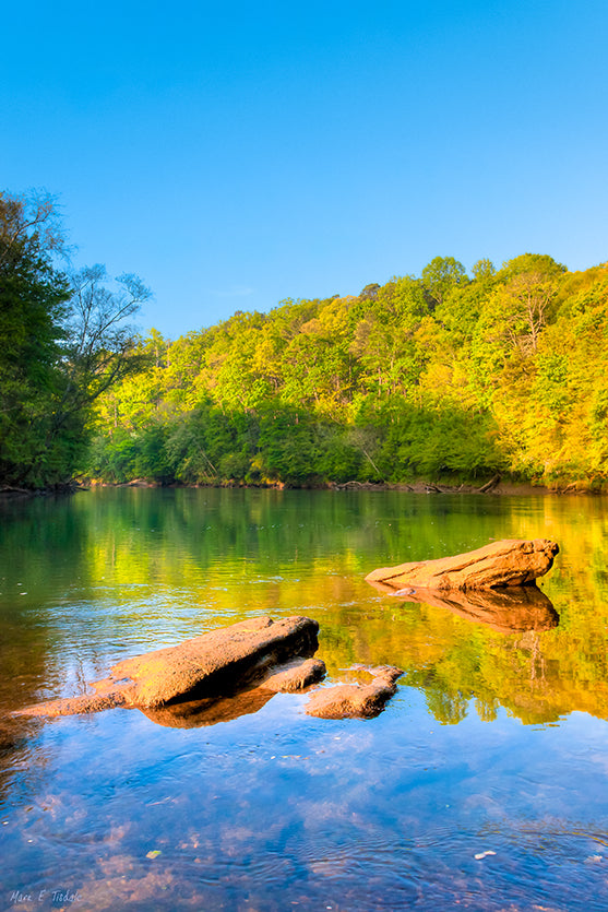 Chattahoochee River - Georgia Art Print