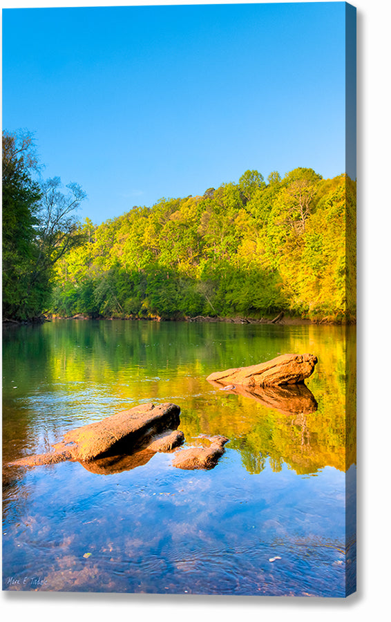 Chattahoochee River - Georgia Canvas Print
