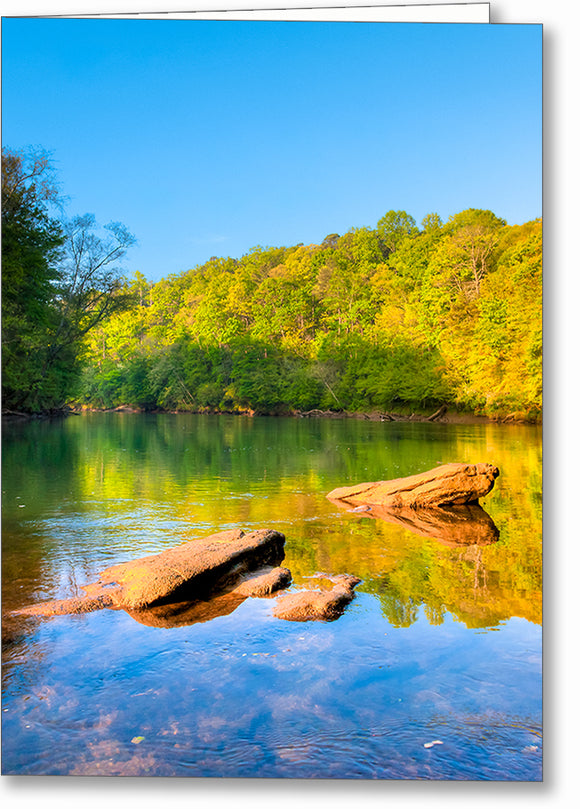 Chattahoochee River - Georgia Greeting Card