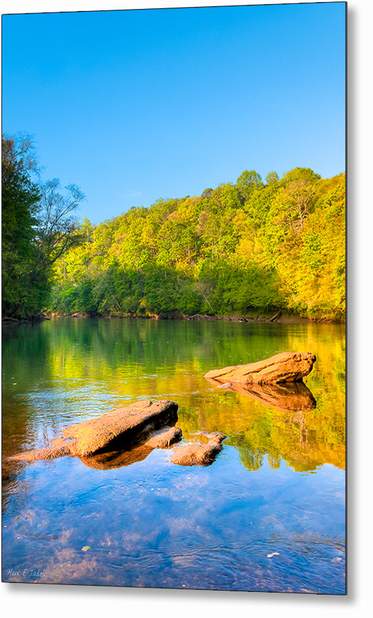 Chattahoochee River - Georgia Metal Print