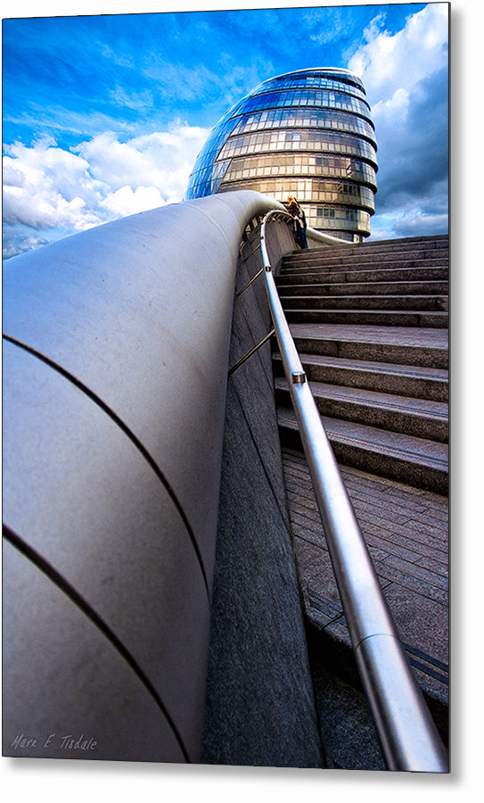 City Hall - London Architecture Metal Print