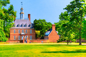 Colonial Governor's Palace - Williamsburg Art Print