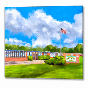 D.F. Douglass High School - Montezuma Georgia Metal Print