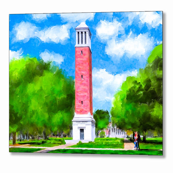 Denny Chimes - University Of Alabama - Metal Print
