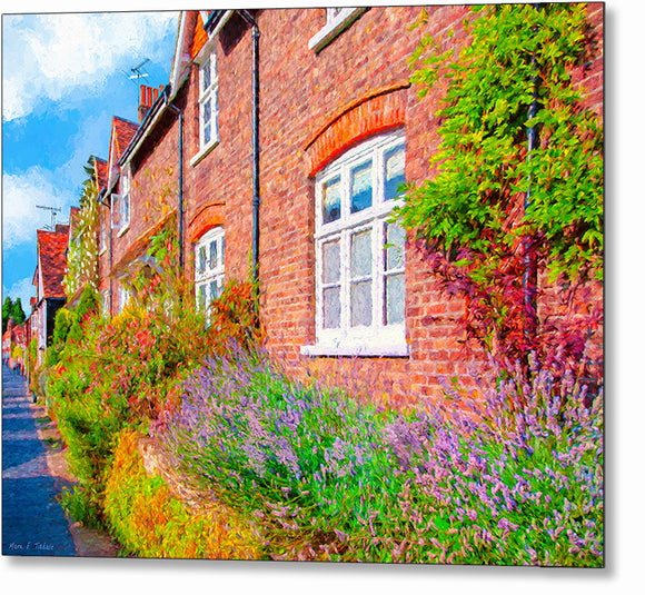 English Garden - St Albans Metal Print