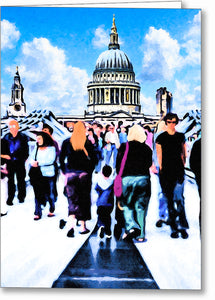 Everyday Life - London Greeting Card