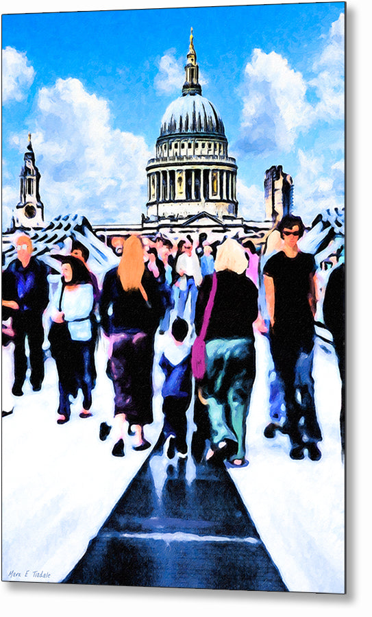 Everyday Life - London Metal Print
