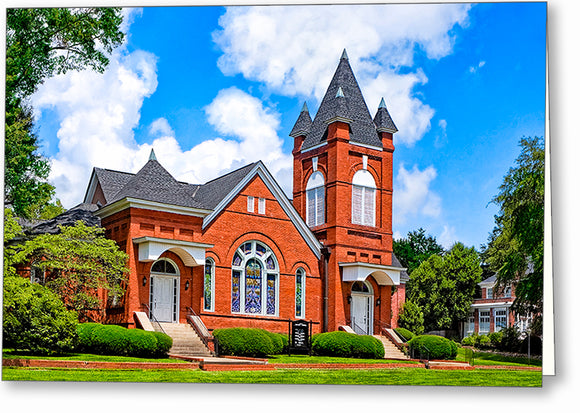 First Baptist Church - Montezuma Georgia Greeting Card