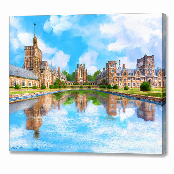 Ford Buildings - Berry College Canvas Print