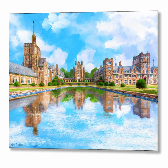 Ford Buildings - Berry College Metal Print