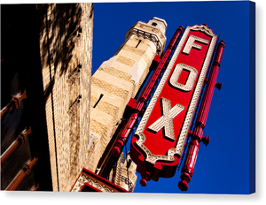 Fox Theatre - Atlanta Landmark Canvas Print